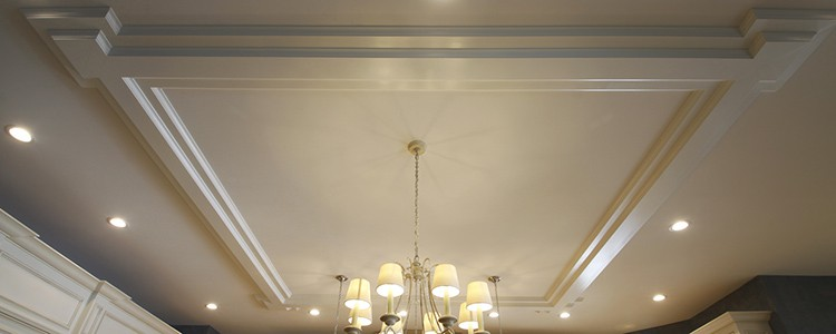 coffered ceiling kit | ceiling system | ceiling tile | faux beams