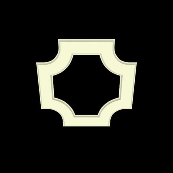 coffered ceiling medallion kit MED-52-CIR-2 | ceiling system | ceiling tile | faux beams