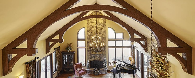 vaulted ceiling trusses