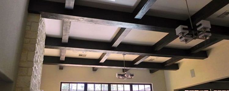 Faux Wood Ceiling Beams - Molded