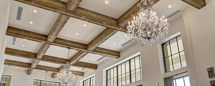 Faux Wood Ceiling Beams