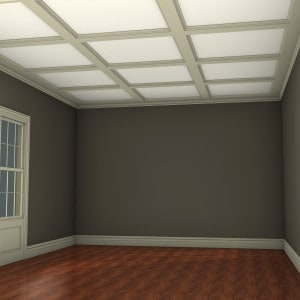Shallow-Beam Ceiling System – Classic Layout (1)
