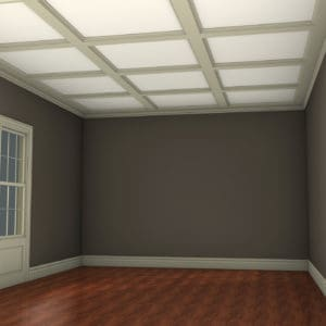SHALLOW BEAM COFFERED CEILING KITS