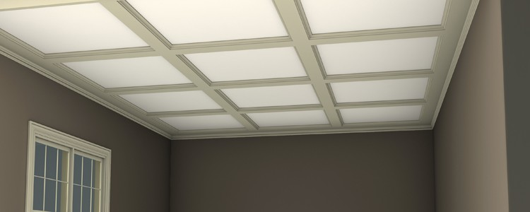 Coffered Ceiling System | Low Profile Ceiling Beam System