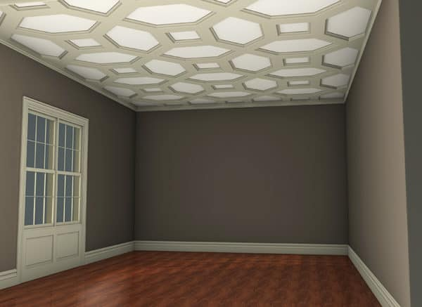 coffered ceiling system kit   decorative faux wood ceiling beams   ceiling tile panels   ceiling molding