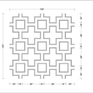 Square Coffer Pattern