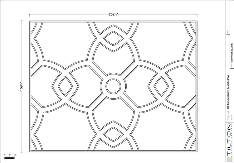 Coffered Ceiling Tiles Decorative Faux Beams Design