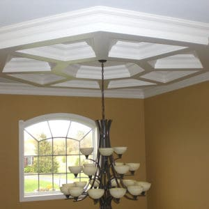 Box Beam Coffered Ceiling System - Pre-Sized Octagon 2