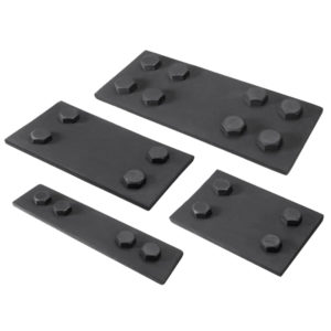 Faux Wood Ceiling Beam Plates (Bolts)