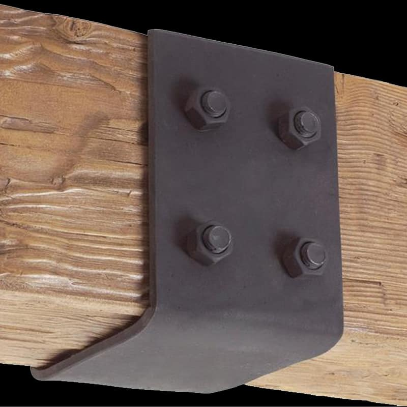 Faux Wood Ceiling Beam Straps