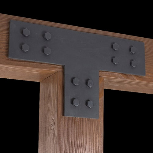Faux Wood Ceiling Beam Tee Plate