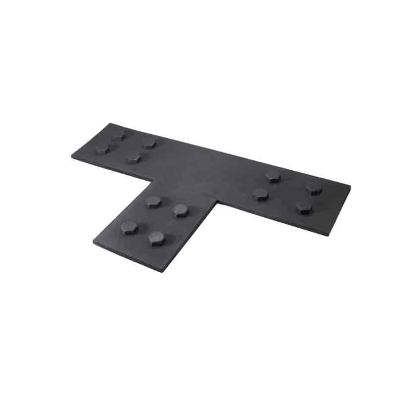Faux Wood Ceiling Beam Tee Plates 3 (Bolts)