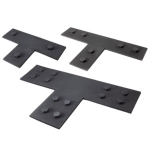 Faux Wood Ceiling Beam Tee Plates (Bolts)