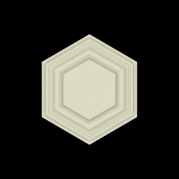Coffered Ceiling Tile - DMT-HEX-24X24 (1)