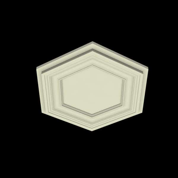 Coffered Ceiling Tile - DMT-HEX-24X24 (2)