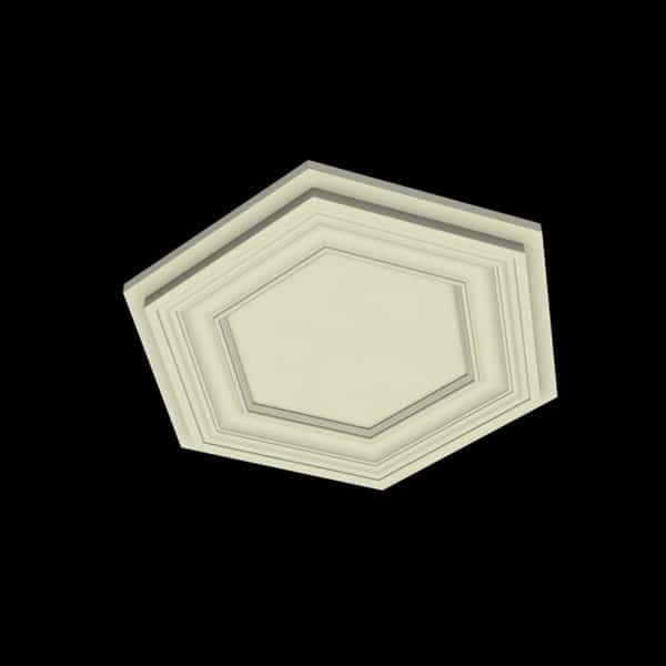 Coffered Ceiling Tile - DMT-HEX-24X24 (3)