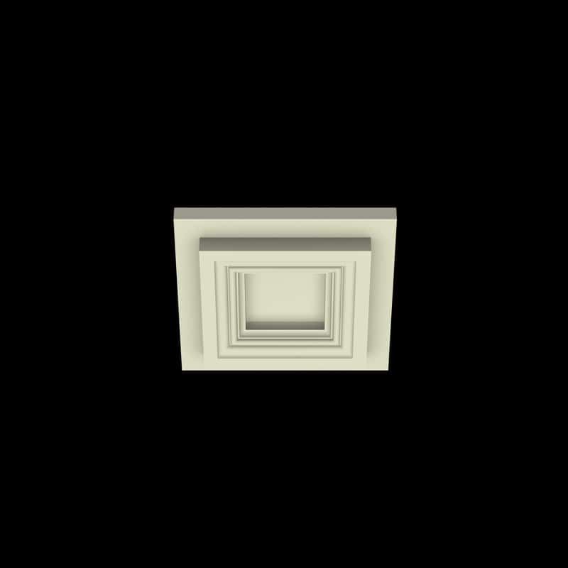Coffered Ceiling Tile DMT-SQR-10X10 (2) | ceiling system | ceiling tile | faux beams