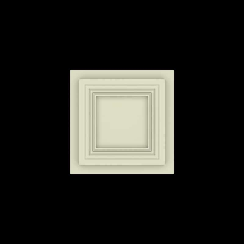 Coffered Ceiling Tile DMT-SQR-12X12 (1) | ceiling system | ceiling tile | faux beams