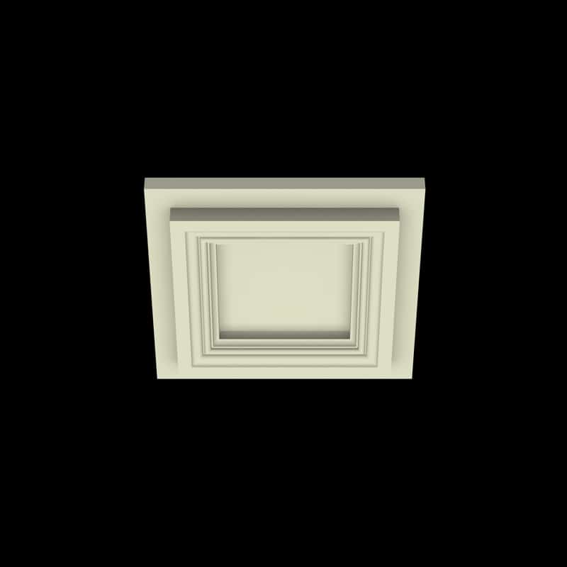 Coffered Ceiling Tile DMT-SQR-12X12 (2) | ceiling system | ceiling tile | faux beams