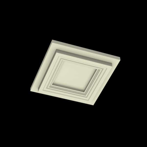 Coffered Ceiling Tile DMT-SQR-12X12 (3) | ceiling system | ceiling tile | faux beams