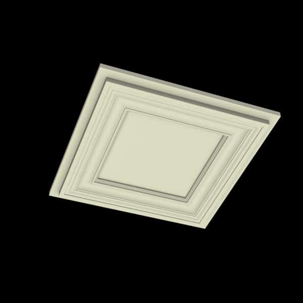 Coffered Ceiling Tile - DMT-SQR-24X24 (3)