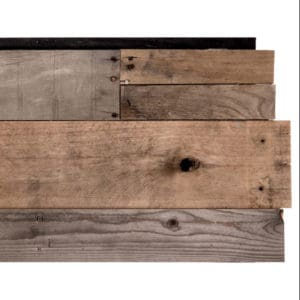 Prefab Ceiling & Wall Plank Panel - Natural Pallet Wood
