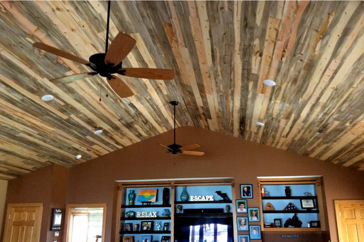 Real Wood Ceiling & Wall Planks - T&G SHIPLAP
