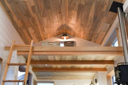 Wood Ceiling & Wall Planks - T&G Shiplap - Smooth - Beetle Kill Pine - Installed (5)