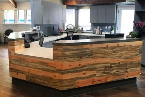 Wood Ceiling & Wall Planks - T&G Shiplap - Smooth - Beetle Kill Pine - Installed (7)