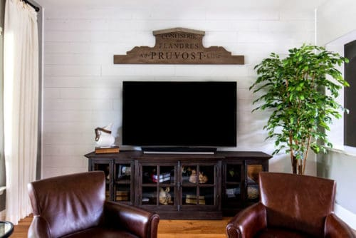 Wood Ceiling & Wall Planks - T&G Shiplap - Smooth - Farmhouse - Installed (3)