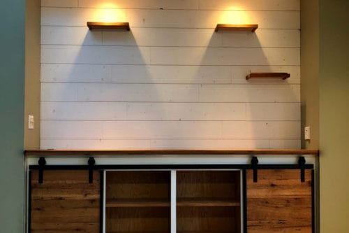 Wood Ceiling & Wall Planks - T&G Shiplap - Smooth - Farmhouse - Installed (8)