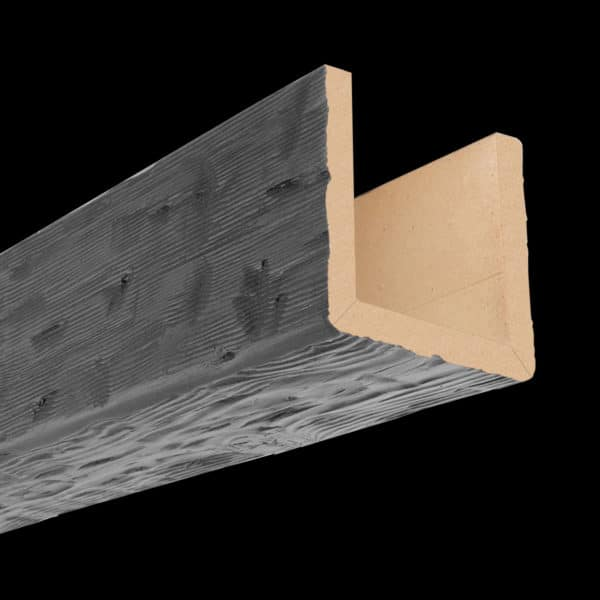 Faux Wood Ceiling Beam 3SBA - Tuscany - Gray (2b)