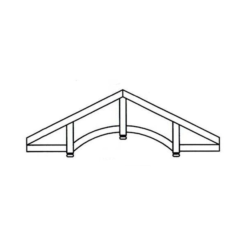 Faux Wood Ceiling Beam - Truss Kit (BRADDOCK)
