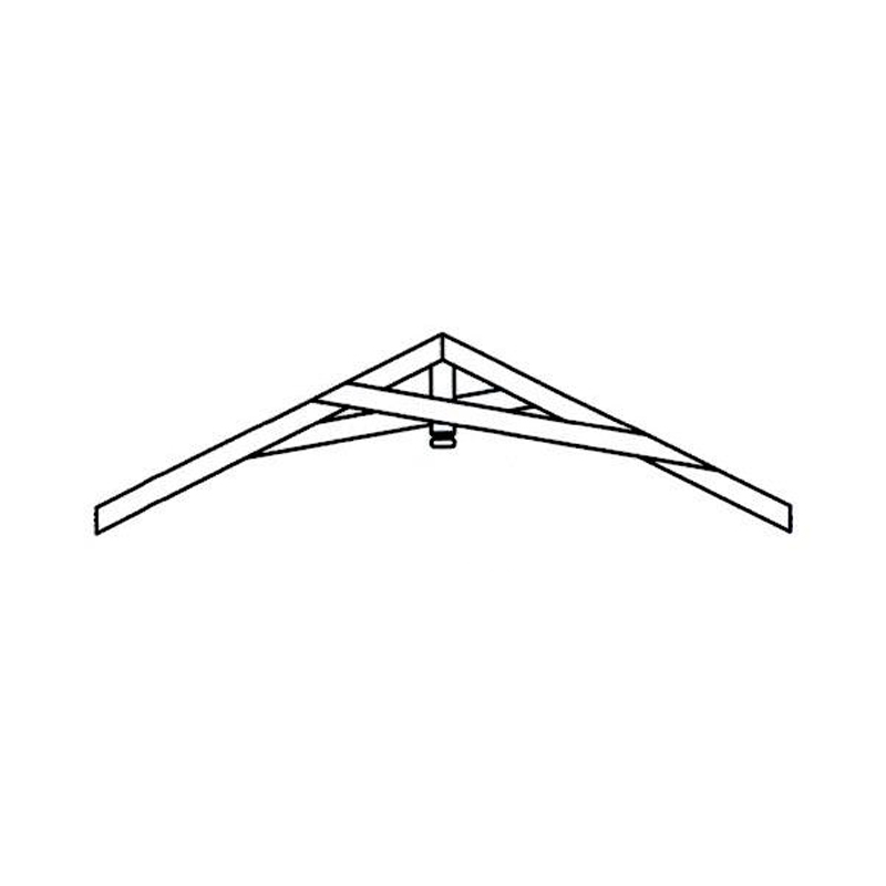 Faux Wood Ceiling Beam - Truss Kit (CATSKILL)