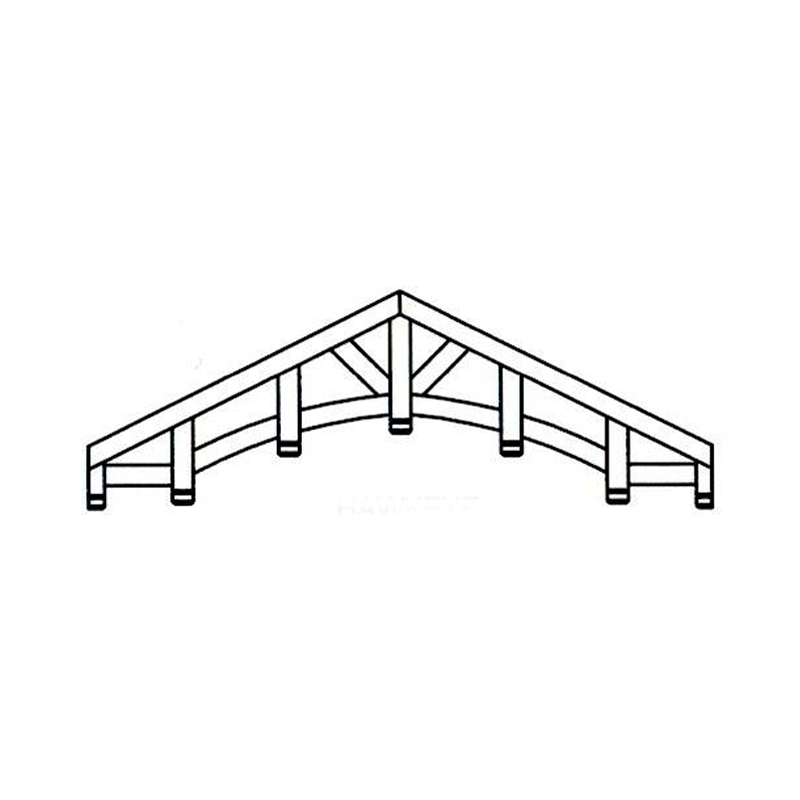 Faux Wood Ceiling Beam - Truss Kit (HAWKEYE)