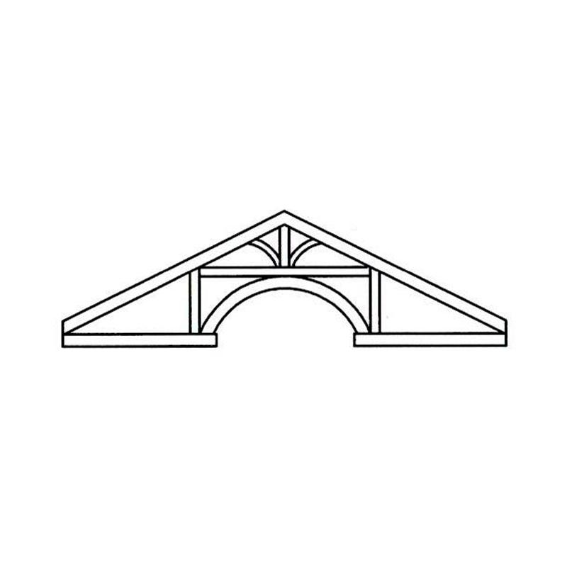 Faux Wood Ceiling Beam - Truss Kit (OXFORD)