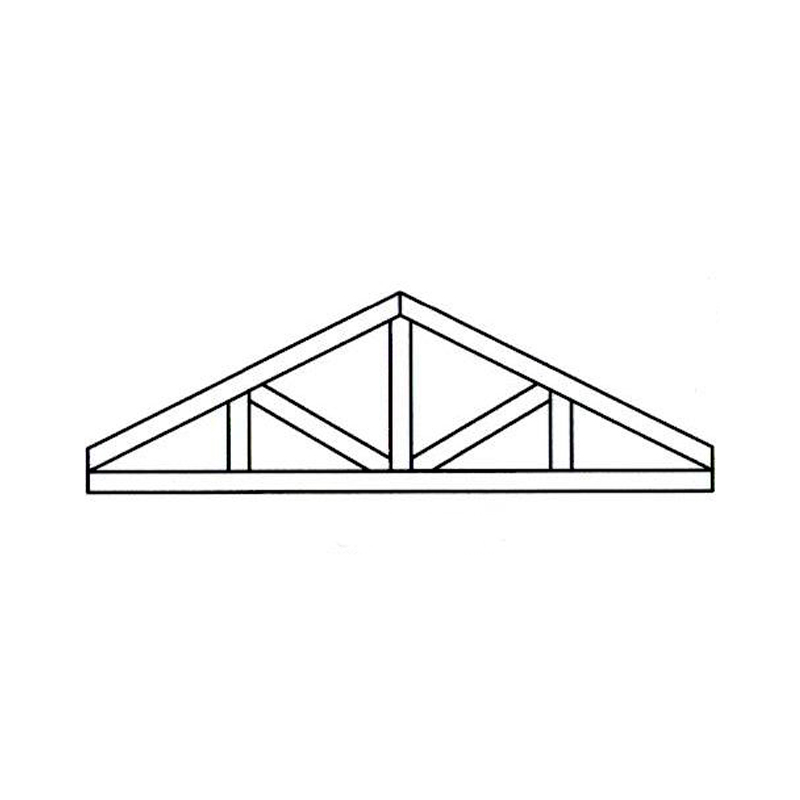 Faux Wood Ceiling Beam - Truss Kit (SAWTOOTH)