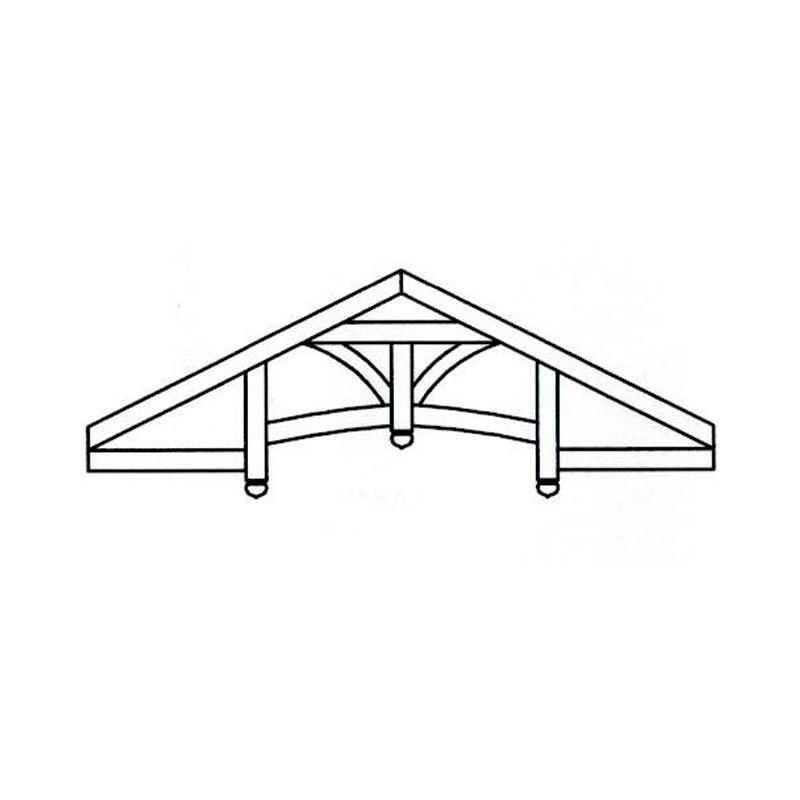 Faux Wood Ceiling Beam - Truss Kit (WASATCH)