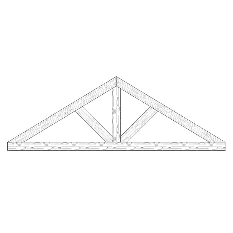 Faux Wood Ceiling Beam Truss - E1-CC-D01(b)