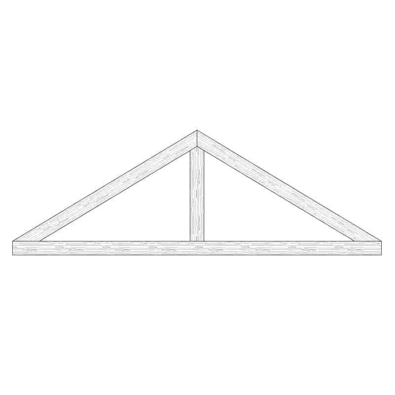 TCC - Faux Wood Ceiling Beam Truss - E1-CC-D02(a)