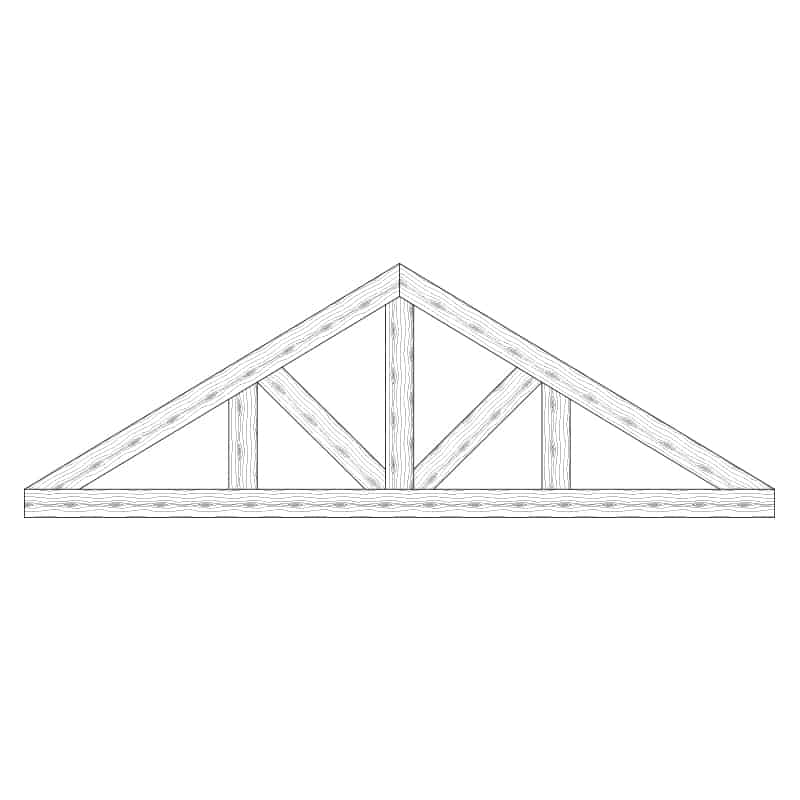 Faux Wood Ceiling Beam Truss - E1-CC-D03(b)