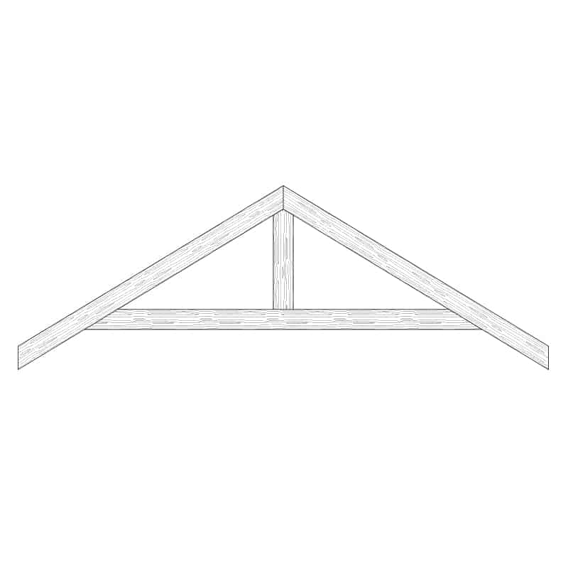 Faux Wood Ceiling Beam Truss - E1-RC-D01(a)
