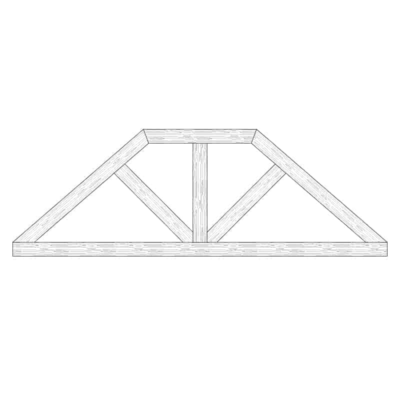 Faux Wood Ceiling Beam Truss - E2-CC-D01(b)