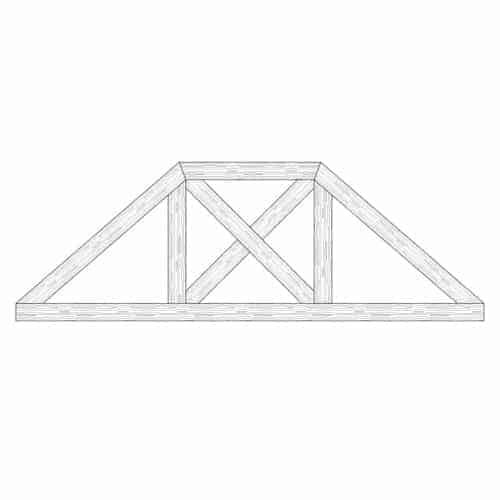 TCC - Faux Wood Ceiling Beam Truss - E2-CC-D02(c)