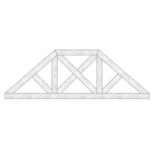 TCC - Faux Wood Ceiling Beam Truss - E2-CC-D03(d)