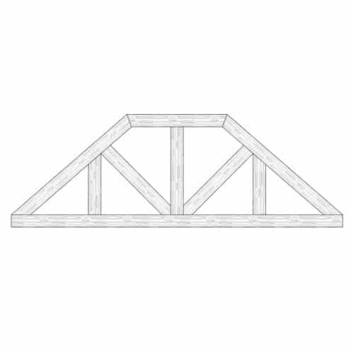 Faux Wood Ceiling Beam Truss - E2-CC-D03(b)