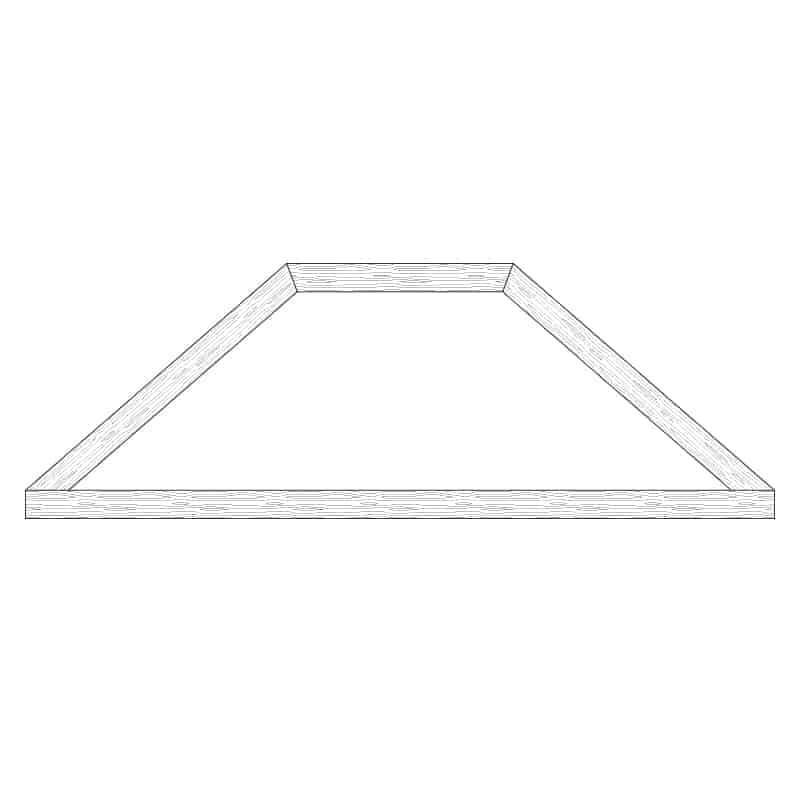 Faux Wood Ceiling Beam Truss - E2-CC-D00