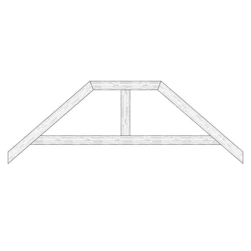 TCC - Faux Wood Ceiling Beam Truss - E2-RC-D02(a)