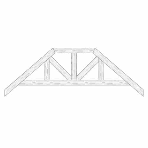 Faux Wood Ceiling Beam Truss - E2-RC-D03(c)