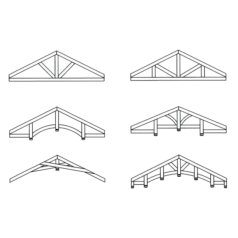 Faux Wood Ceiling Beam - Truss Drawings